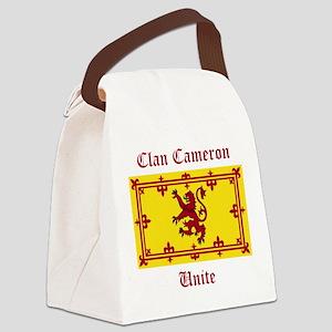 Cameron Canvas Lunch Bag