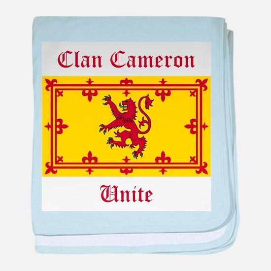 Cameron baby blanket