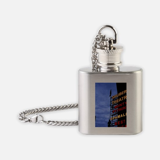 New York City. Sign for the Shubert Flask Necklace