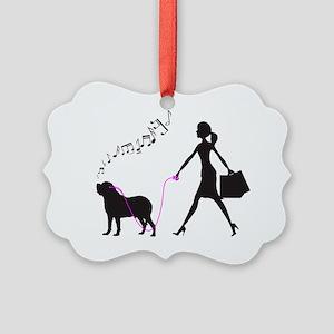 Mastiff32 Picture Ornament