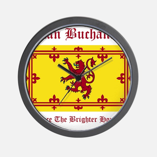 Buchanan Wall Clock