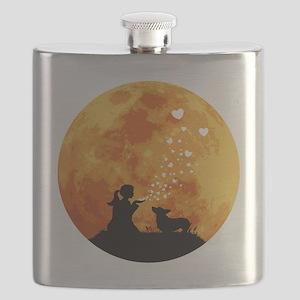 Pembroke-Welsh-Corgi22 Flask