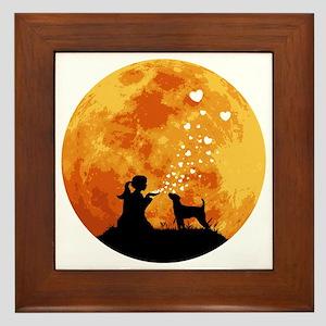 Parson-Russell-Terrier22 Framed Tile
