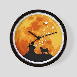 Pug22 Wall Clock