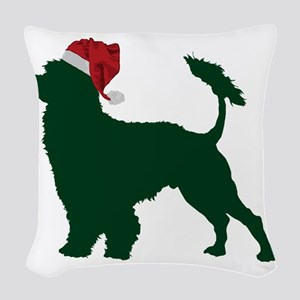 Portuguese-Water-Dog23 Woven Throw Pillow