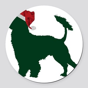 Portuguese-Water-Dog23 Round Car Magnet