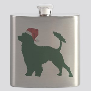 Portuguese-Water-Dog23 Flask
