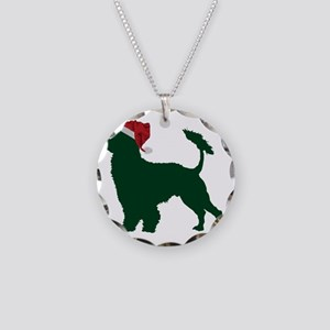 Portuguese-Water-Dog23 Necklace Circle Charm