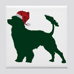 Portuguese-Water-Dog23 Tile Coaster