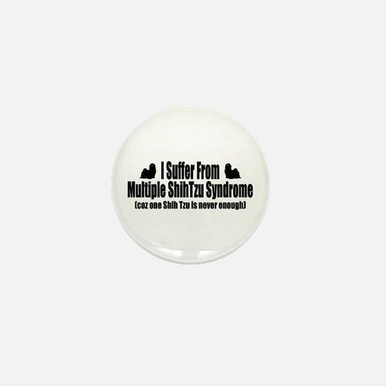 Shih Tzu Mini Button
