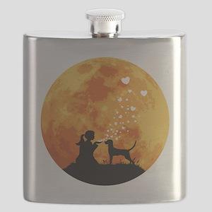 Redbone-Coonhound22 Flask