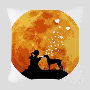 Rhodesian-Ridgeback22 Woven Throw Pillow