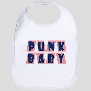 Punk Baby (pink) Bib