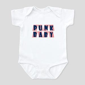 Punk Baby (pink) Infant Bodysuit