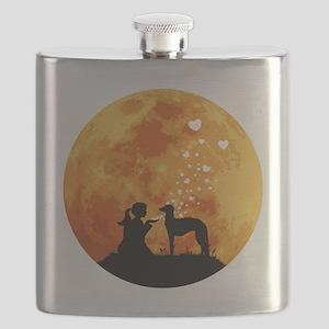 Scottish-Deerhound22 Flask