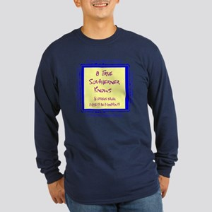 True Southerner Long Sleeve Dark T-Shirt