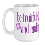 be fruitful and multiply Large Mug