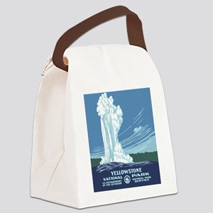 yellowstone-vintage_02 Canvas Lunch Bag