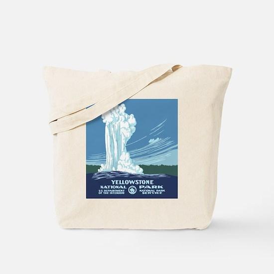 yellowstone-vintage_02 Tote Bag