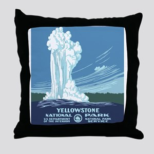 yellowstone-vintage_02 Throw Pillow