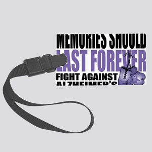 Memories-Last-Forever-2009 Large Luggage Tag