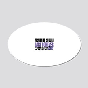 Memories-Last-Forever-2009 20x12 Oval Wall Decal