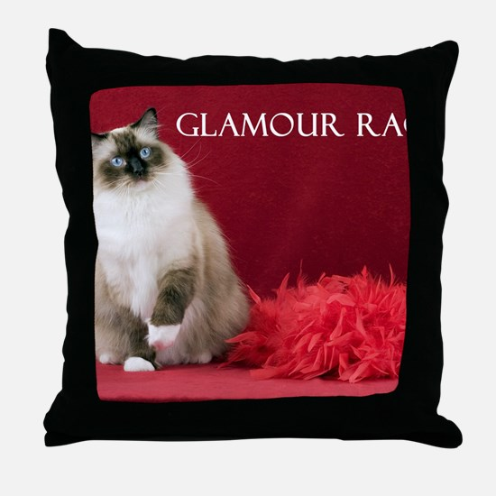 2011 Cover Throw Pillow