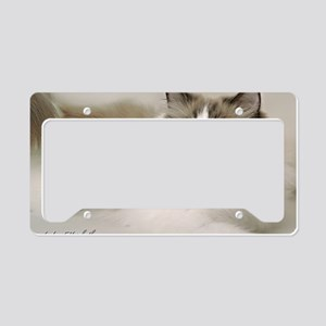 2-January License Plate Holder