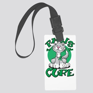 Paws-for-the-Cure-Cat-Kidney-Can Large Luggage Tag