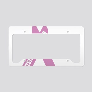 Testicular-Cancer-Hope-blk License Plate Holder