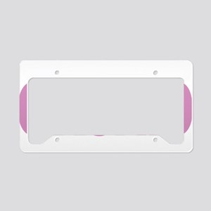 Testicular-Cancer-Think-Orchi License Plate Holder