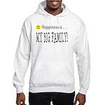 Happiness is MY BIG FAMILY Hooded Sweatshirt