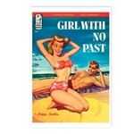 Postcards (pkg. 8) - 'Girl With No Past'