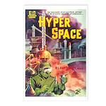 Postcards (pkg. 8) - 'Hyper Space'