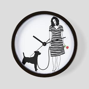 Smooth-Fox-Terrier11 Wall Clock