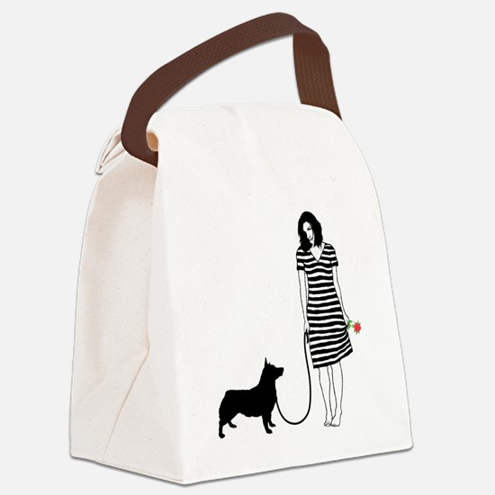 Swedish-Vallhund11 Canvas Lunch Bag