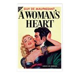 Postcards (pkg. 8) - 'A Woman's Heart'