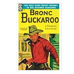 Postcards (pkg. 8) - 'Bronc Buckaroo'