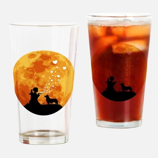 Swedish-Vallhund22 Drinking Glass
