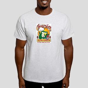 Creole Crocs Cajun Cuisine Ash Grey T-Shirt
