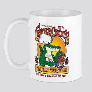 Creole Crocs Cajun Cuisine Mug
