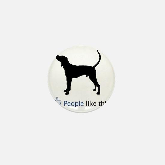 Treeing-Walker-Coonhound03 Mini Button