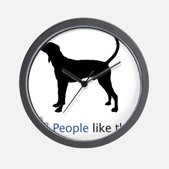Treeing-Walker-Coonhound03 Wall Clock