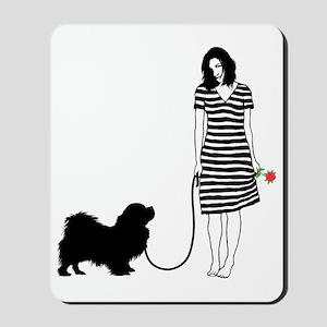 Tibetan-Spaniel11 Mousepad