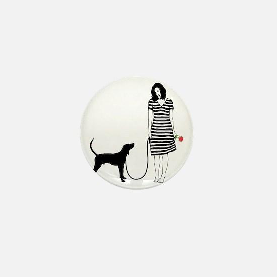 Treeing-Walker-Coonhound11 Mini Button