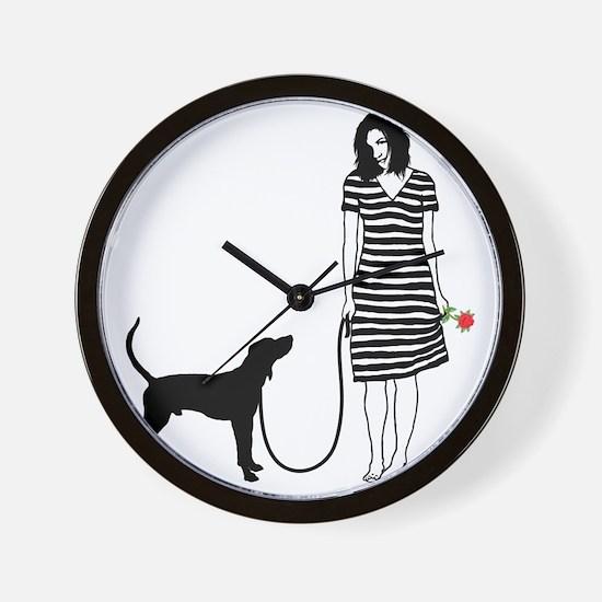 Treeing-Walker-Coonhound11 Wall Clock