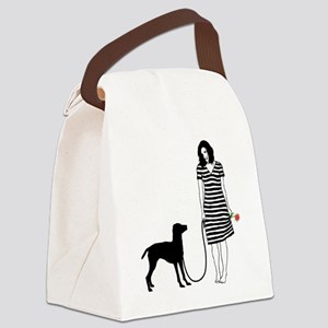 Vizsla11 Canvas Lunch Bag