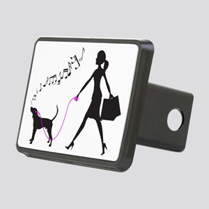 Treeing-Walker-Coonhound32 Rectangular Hitch Cover