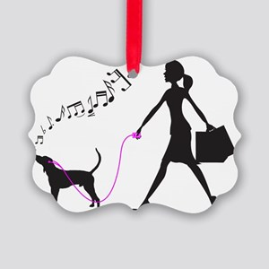 Treeing-Walker-Coonhound32 Picture Ornament