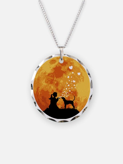 Treeing-Walker-Coonhound22 Necklace